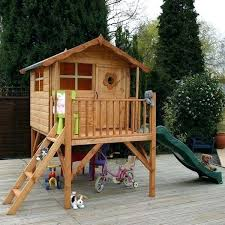 childrens playhouse with slide pallet kids playhouse childrens outdoor playhouse with slide