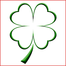 Small Picture Elegant 4 Leaf Clover Coloring Sheet job latter