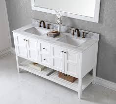 60 Inch Single Sink Vanity Cabinet Brilliant Best Bathroom Vanities Double And Single Sink Also 60