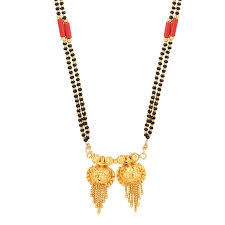pourni double vati long chain mangalsutra for women