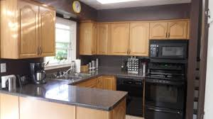 kitchen design white cabinets black appliances. Wall Colour To Go With Grey Kitchen Cabinets Black Design Countertops White Appliances E