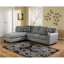 Ashley Furniture Zella Charcoal Living Room Raf Sofa
