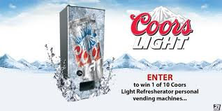 Coors Light Vending Machine Inspiration Last Call To Own Your Own Personal Vending Machine From Coorslight