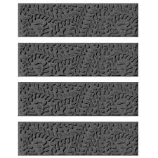 aqua shield charcoal 8 5 in x 30 in boxwood stair tread cover set