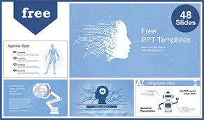 Artificial Intelligence High Technology Powerpoint Templates For Free