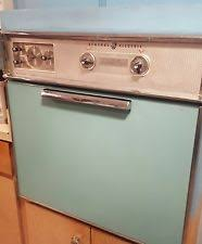 vintage electric stove ge electric in wall oven stovetop aqua teal vintage combo orlando flarea local