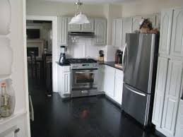 Dark Wood Floors In Kitchen 3alhkecom A Small Kitchen Ideas With Cool Cabinet And Dark