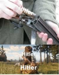 Itle Hitler Hitler in His Bunker April301945   April Meme on ME.ME