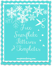free snowflake pattern. Simple Free Free Snowflake Patterns And Templates With Pattern A