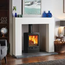 modern fire surrounds for wood burners google search