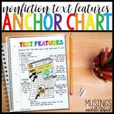 Text Features Anchor Chart Worksheets Teaching Resources Tpt