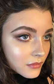 simple but pretty makeup