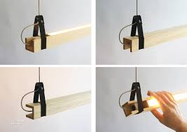 wood lighting. Down Side Up LED Suspension Light In Ash, Aluminum, Nylon, And Stainless Steel By Popular Architecture. Wood Lighting N