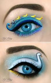 20 ingenious makeup art designs