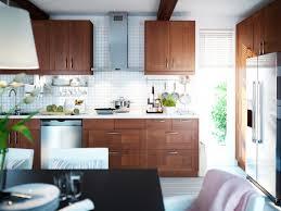 Ikea Wood Kitchen Cabinets Ikea Oak Kitchen Cabinets My Blog