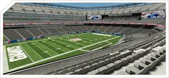 New York Giants Stadium Seating Chart 3d Products Ballena Technologies Inc