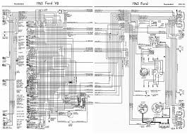 ford v8 thunderbird 1963 complete wiring diagram all about diagrams thermo fan wiring