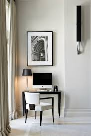 black white home office inspiration. small home offices inspirations black and white office inspiration f