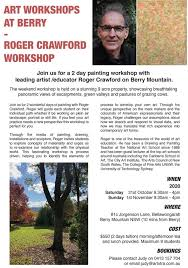 2-Day Painting Workshop with Roger Crawford | Berry NSW