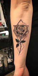 50 Beautiful Rose Tattoo Ideas Mybodiart