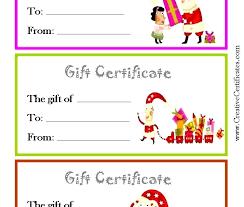 Printable Christmas Certificates Christmas Gift Card Template Tittle Free Printable Holder Templates