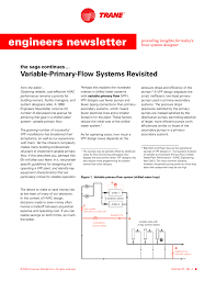 Series Counterflow Chiller Design Variable Primary Flow Systems Revisited Manualzz Com