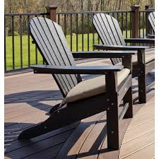 Trex Trex Outdoor Cape Cod Adirondack Chair with Cushion & Reviews