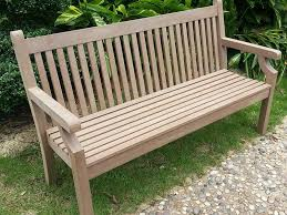 3 seater sandwick winawood bench in brown