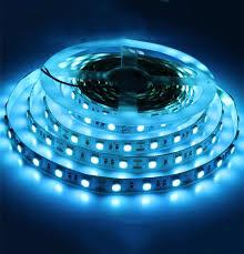 Dc12v 5m 5050 Smd Ice Blue 60leds M Flexible Led Strip Light Non