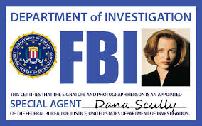 Agent By Deviantart Lexistripes Fbi Badge On Scully