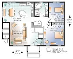 floor plans with basement. 1st Level 3 Bedroom House Plan With Basement Apartment, Apartment One And Open Floor Plans A