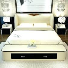leather queen bed leather queen bed frame bedroom furniture sets modern leather queen size storage bed