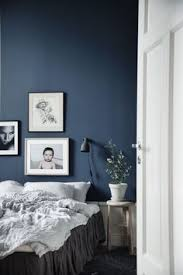 cozy blue black bedroom bedroom. Dark Wall Color Combined With White Furniture For Cozy And Relaxing Bedroom Blue Black G