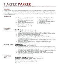 Resume For Fast Food Nfcnbarroom Com