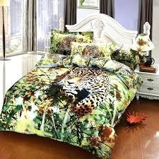 cheetah print bedroom set jungle bedding queen size good cotton leopard duvet cover animal comforter sets