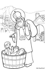 Small Picture St Nicholas coloring page by FireFiriel on DeviantArt