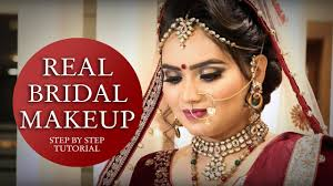 real bridal makeup tutorial step by step bridal makeup tutorial video krushhh by konica
