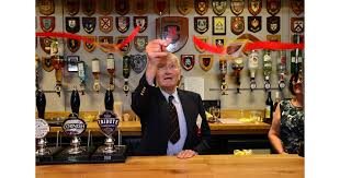 Iva opens the refurbished bar