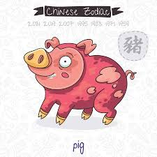 Chinese Horoscope 2019 Year Of The Earth Pig
