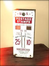 Stamp Vending Machine Location Extraordinary Twoslot US Post Office Stamp Vending Machine 48 Catawiki