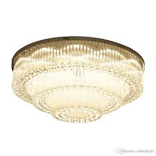 High End Light Fixtures Luxurious Modern Crystal Chandelier Round High End K9 Crystal Ceiling Light Fixtures For Living Room Dining Room
