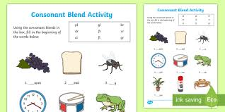 If you like these, you might like our entire no prep blends dot pages pack! Consonant Blend Activity Ela Resources Twinkl Usa