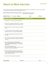 employee notes template 44 return to work work release forms printable templates