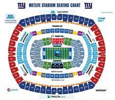 Chicago Bears Seating Chart Chicago 30th Row Chicago Bears Sports Tickets For Sale Ebay