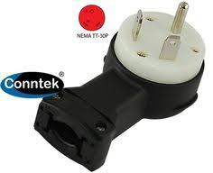 rv electrical adapter 30amp to 15amp tt 30p 5 15r adapt from conntek astt 30p 30a tt 30p rv wiring plug right angle