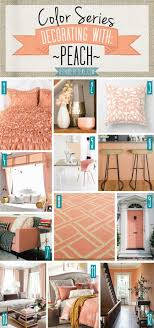 Peach Bedroom Decorating 17 Best Ideas About Peach Decor On Pinterest Room Goals