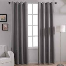 white blackout curtains grommet family dollar curtain rods