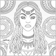 tribal coloring pages.  Tribal Tribal Queen Coloring Page Color Therapy App For Pages T
