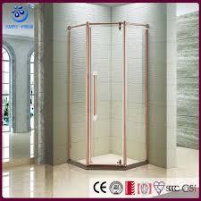 semi frameless neo angle walk in shower enclosure door pivot hinge contemporary shower room