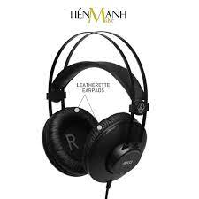Chính Hãng Mỹ] Tai Nghe Kiểm Âm AKG K52 Over-Ear Studio Monitor Headphones  Professional - Kèm Móng Gẩy DreamMaker - Tai nghe có dây chụp tai  (Over-Ear) Nhãn hàng Audio-technica